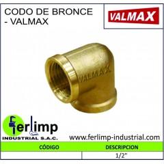 CODO DE BRONCE - VALMAX