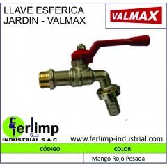 LLAVE ESFERICA JARDIN - VALMAX