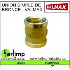 UNION SIMPLE DE BRONCE -...
