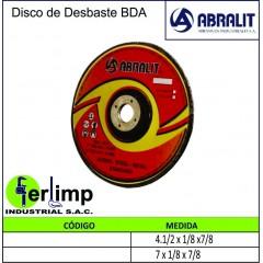 DISCO DE DESBASTE BDA -...