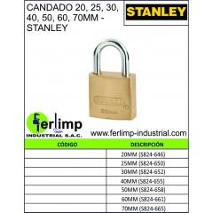 CANDADO DE BRONCE - STANLEY