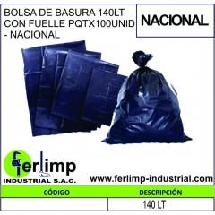 BOLSA DE BASURA 140 LT CON...