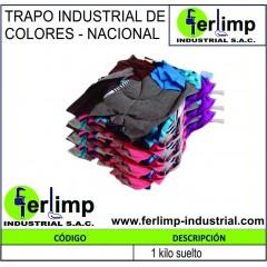 TRAPO INDUSTRIAL DE COLORES...