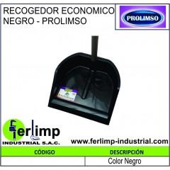 RECOGEDOR ECONOMICO NEGRO -...