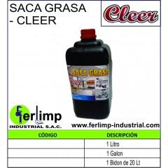 SACAGRASA CONCENTRADO - CLEER