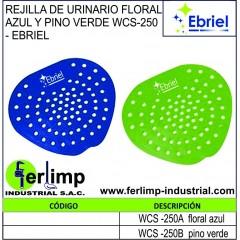 REJILLA DE URINARIO FLORAL...