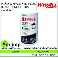 PAÑO WYPALL X-80 PLUS...