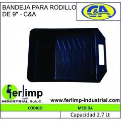 """BANDEJA PARA RODILLO DE 9""""..."""