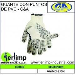 GUANTES CON PUNTOS DE PVC -...