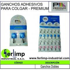 GANCHOS ADHESIVOS DE PVC...
