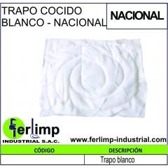 TRAPO COCIDO BLANCO - NACIONAL