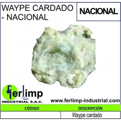 WAYPE CARDADO - NACIONAL