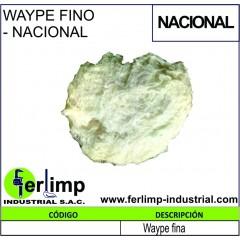 WAYPE FINO - NACIONAL