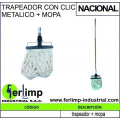 TRAPEADOR CON CLIC METALICO...
